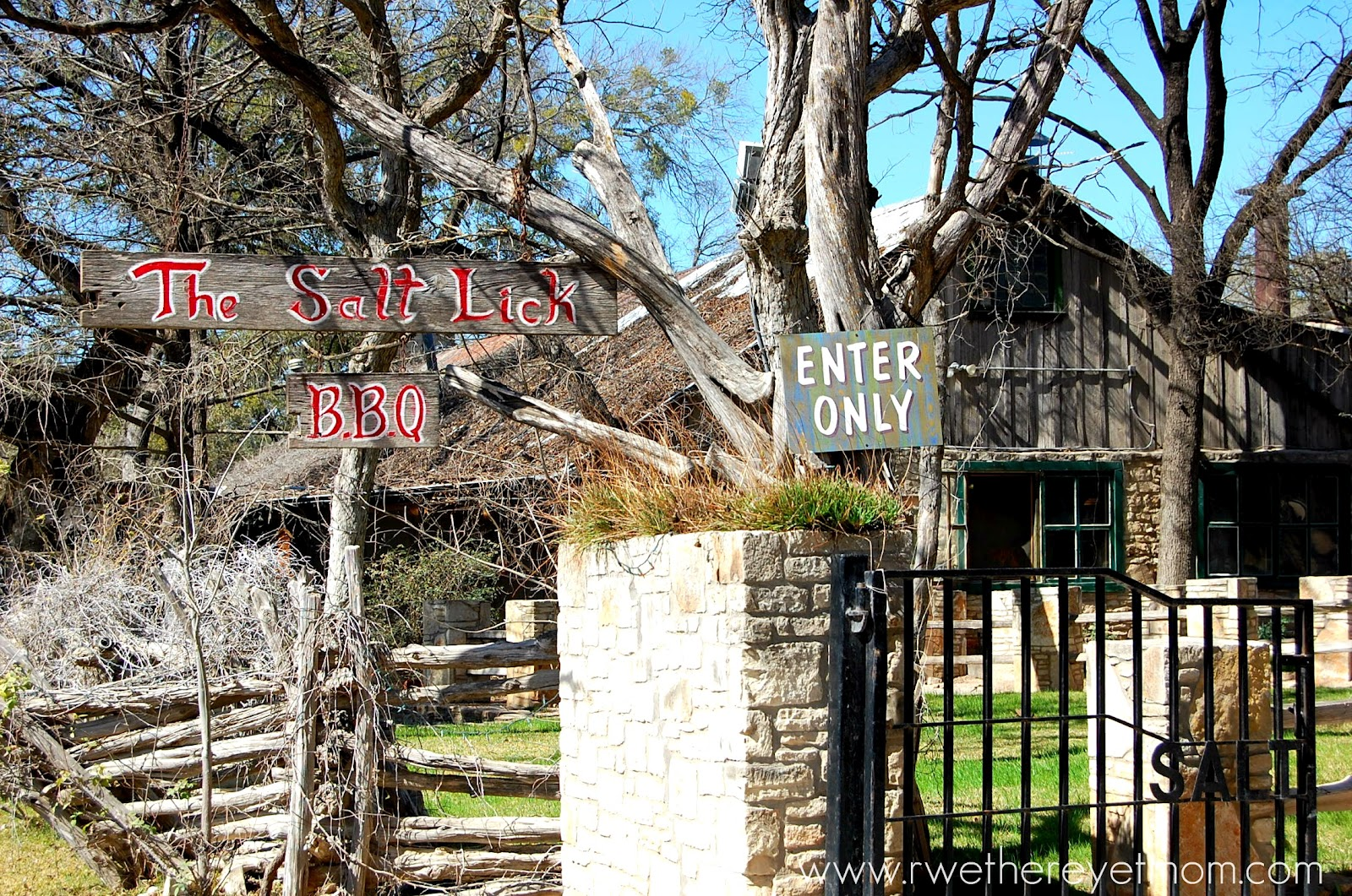Salt lick bbq driftwood texas valuable phrase